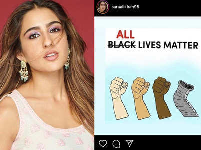 Sara gets trolled for All Lives Matter post