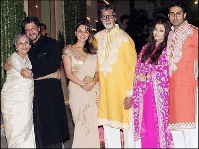 SRK-Big B's throwback pic with their partners