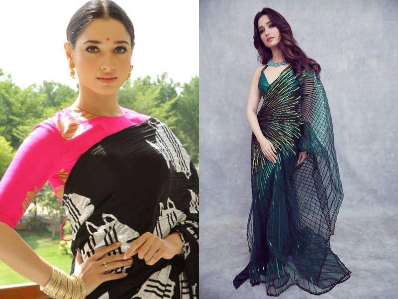 5 times Tamannaah Bhatia gave sari goals to all the new BRIDES