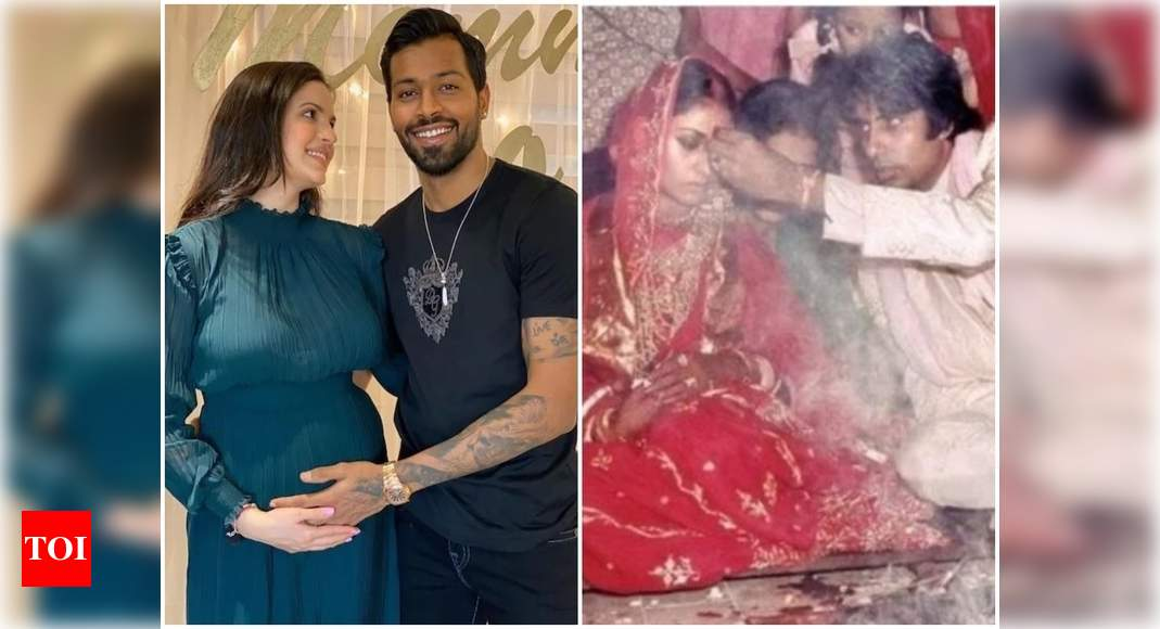 From Hardik Pandya and Natasa Stankovic announcing their pregnancy to Amitabh Bachchan sharing pictures from his wedding ceremony; here are posts which went viral this week – Times of India