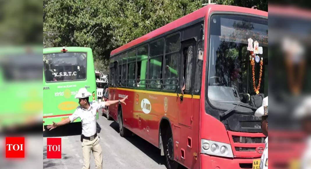 Ksrtc May Resume Services To Andhra Pradesh Telangana Bengaluru News Times Of India