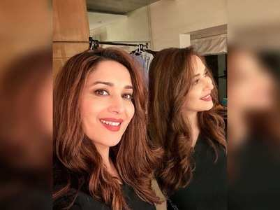 Madhuri shares a beautiful selfie on Instagram