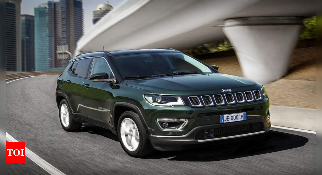 Jeep Compass 2021 Jeep Compass Breaks Covers Debuts With Hybrid Engine Times Of India