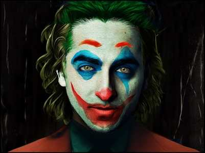 'Joker' Ayushmann shares an amazing fan art