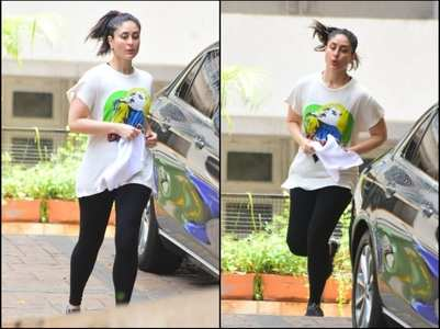 Pics: Bebo jogs in her building compound