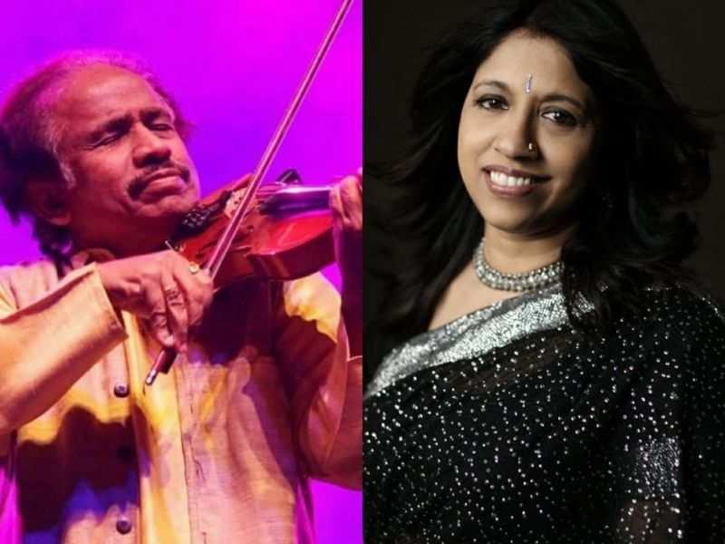 Dr L Subramaniam and Kavita Krishnamurti to perform live today
