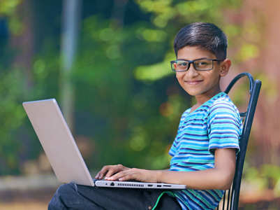 Types of children during online classes