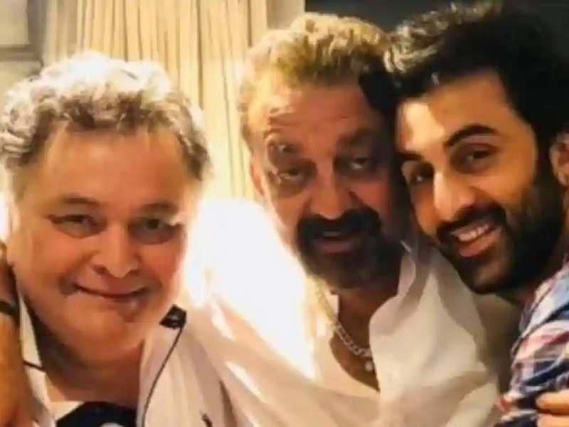 When Rishi Kapoor got all emotional and praised his son Ranbir Kapoor for his incredible performance in 'Sanju' - watch