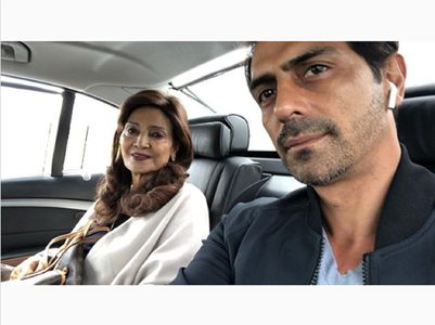 Arjun Rampal's heartfelt note for his mother