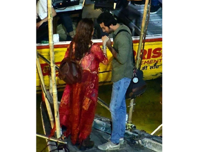 Ranbir-Alia pic from the sets of Brahmastra