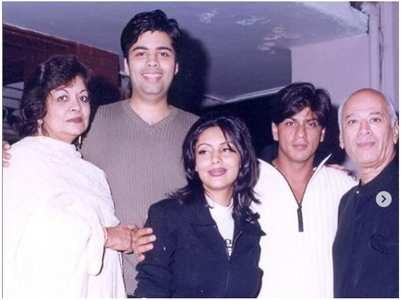 Major throwback pics of KJo with SRK-Akshay