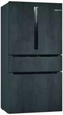 Bosch Serie | 8 French Door Bottom freezer, 3 doors183 x 90.6 cm Graphite