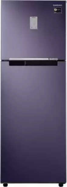 Samsung 275 L Frost Free Double Door 2 Star (2020) Refrigerator  (PEBBLE BLUE, RT30T3422UT/NL)