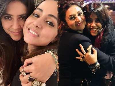 TV celebs wish Ekta Kapoor on her birthday