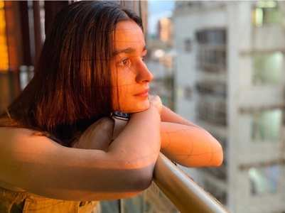 Alia Bhatt's perfect golden hour picture