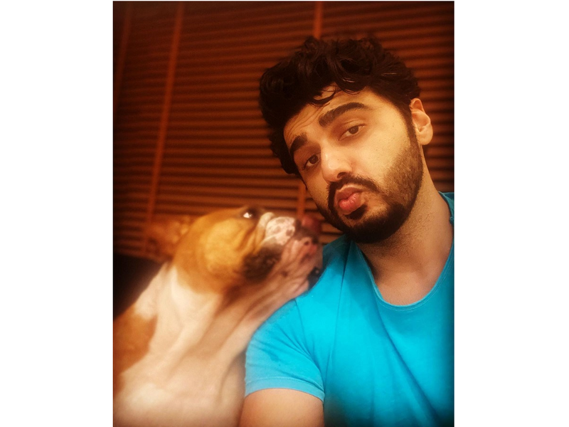 Photos: Arjun Kapoor is having a 'mad' Sunday with his dog Max!