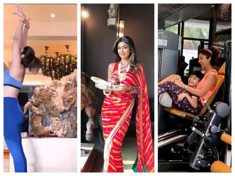 A sneak peek into Shilpa Shetty Kundra's lavish and stylish home will ward off your lockdown blues