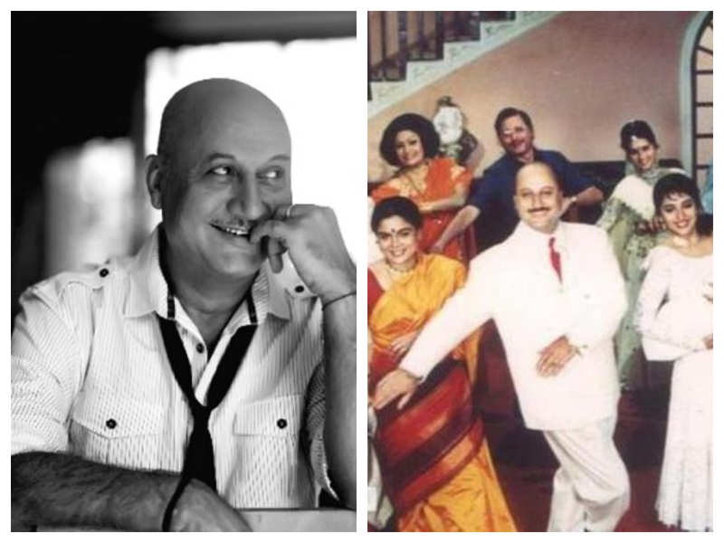 Did you know that Anupam Kher suffered from facial paralysis while he was shooting for 'Hum Aapke Hain Koun'?