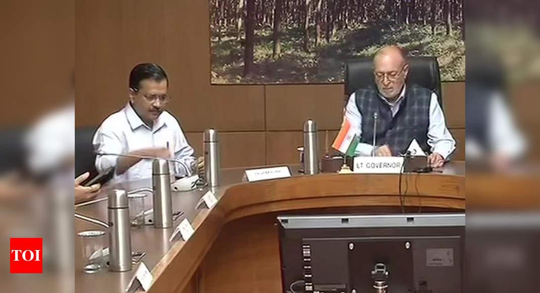 Covid-19: LG overrules Arvind Kejriwal's order on hospitals for Delhi residents