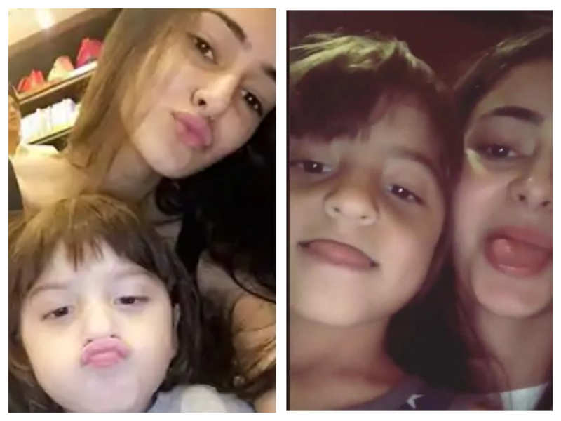 Ananya Panday shares her favourite memory of AbRam Khan and it is simply too sweet for words