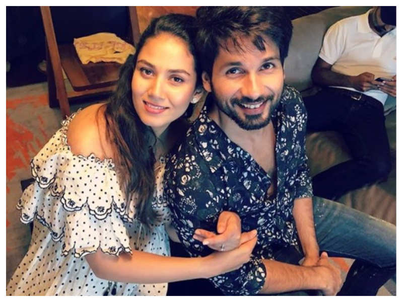 Take a sneak peek into Shahid Kapoor and Mira Rajput's stunning and stylish home