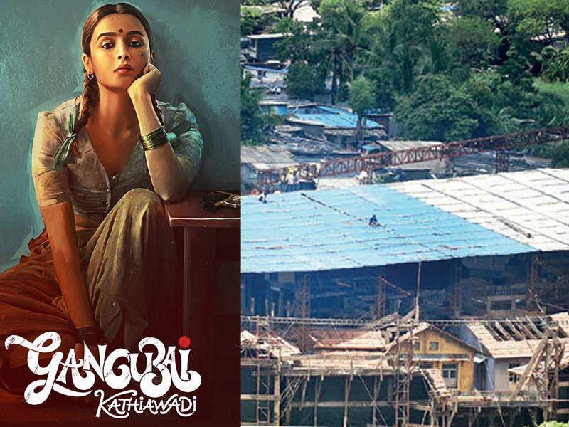 Alia Bhatt's 'Gangubai Kathiawadi' set gets a monsoon cover