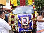 Chiranjeevi Sarja funeral pictures
