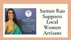 Suman Rao's Handcrafted PDKF Sari On Auction To Raise Funds For Women