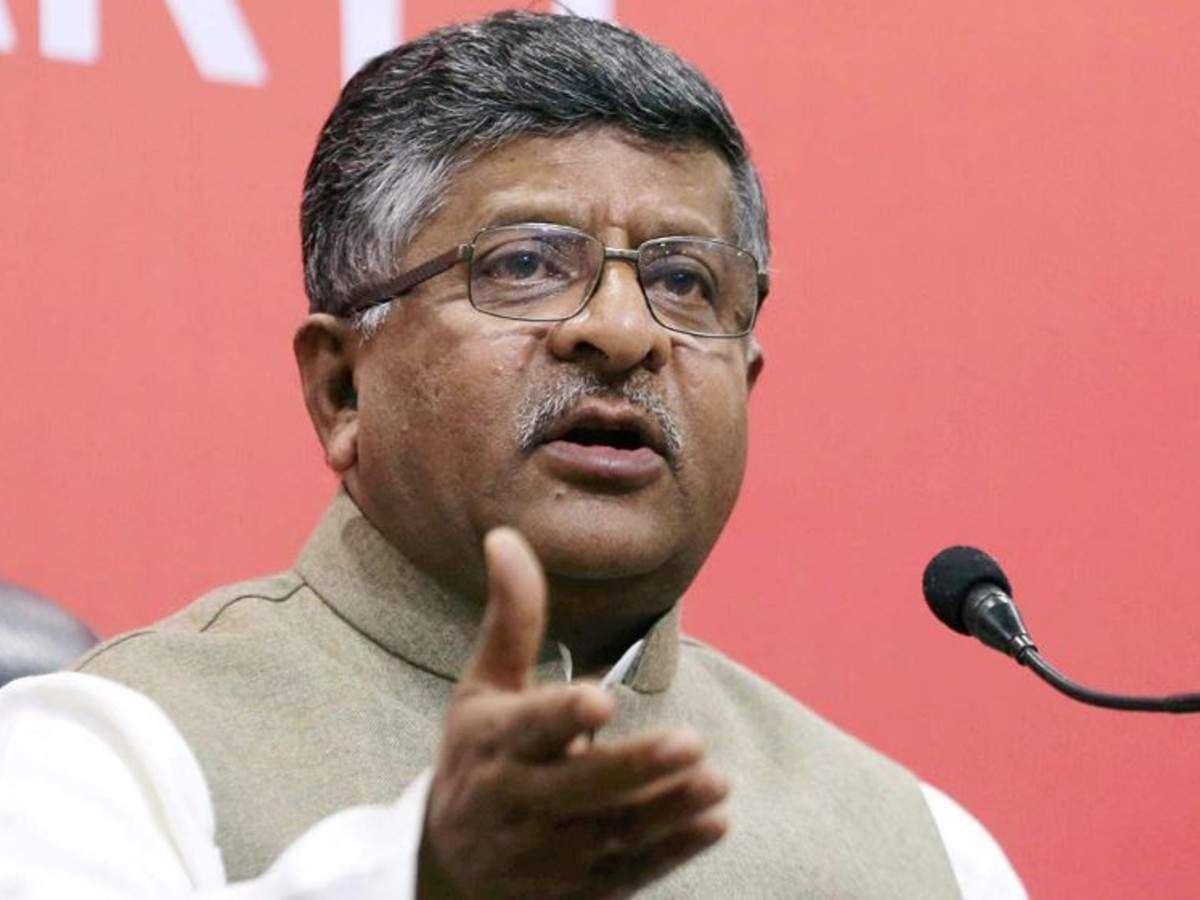 Union IT Minister Ravi Shankar Prasad said that he was not the one who declared the removal of Twitter intermediary status, the law did.