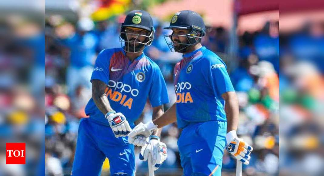 Shikhar Dhawan credits trust factor for successful ODI opening partnership with Rohit Sharma | Cricket News – Times of India