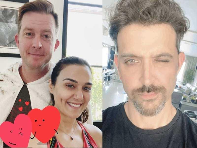 Preity Zinta Turns Barber For Husband