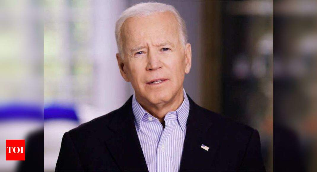 Indian-American elected as Biden's delegate for August convention – Times of India