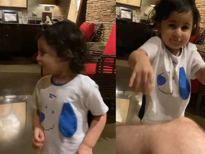 Cuteness Alert! Neil Nitin Mukesh's daughter sets the weekend tone right with her gibberish