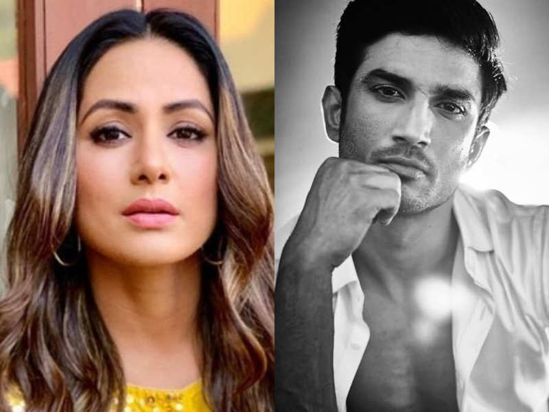 Rip Sushant Tv Celebs React To Sushant Singh Rajput Death News Hina Khan Divyanka Tripathi And Entire Tv Industry At Loss Of Words After Sushant Singh Rajput S Shocking Death