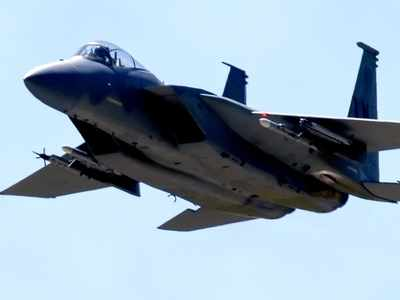 U.S. F-15 Fighter Jet Crashes Into The North Sea