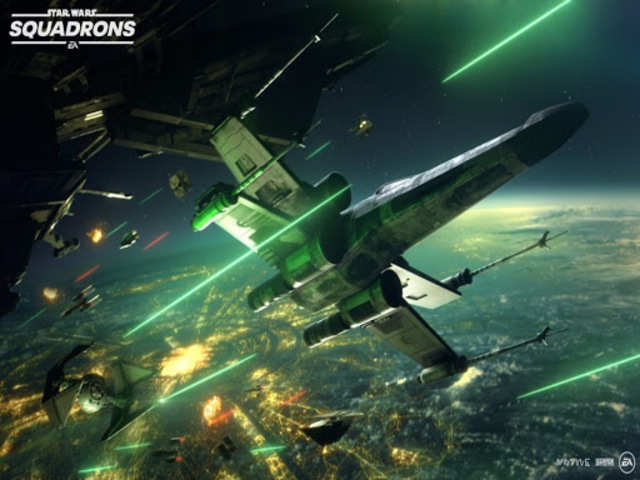 EA announces 'Star Wars: Squadrons' game