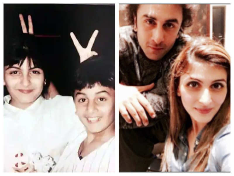 """Riddhima Kapoor Sahni confesses she fights with brother Ranbir Kapoor """"all the time"""" even now"""