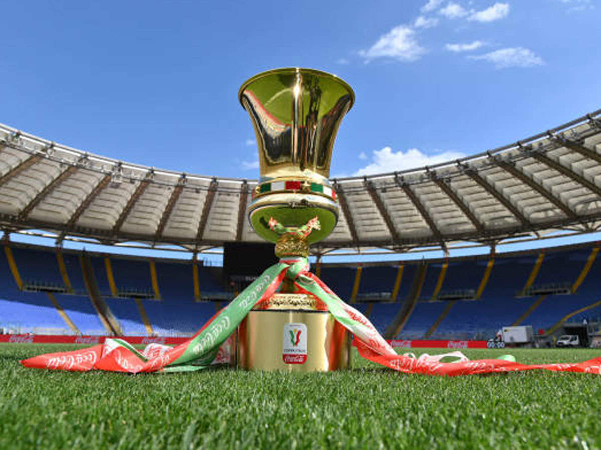 Self-service medal ceremony for Coppa Italia final | Football News - Times  of India