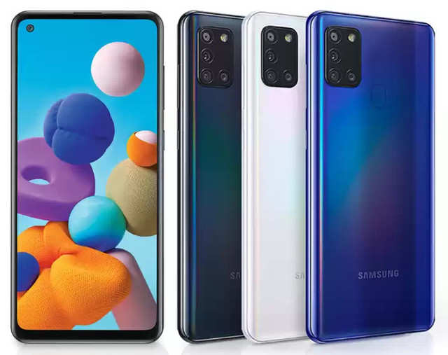 Samsung Galaxy A21s with 5000mAh battery launched, price starts at Rs  16,499 - Mobiles News | Gadgets Now