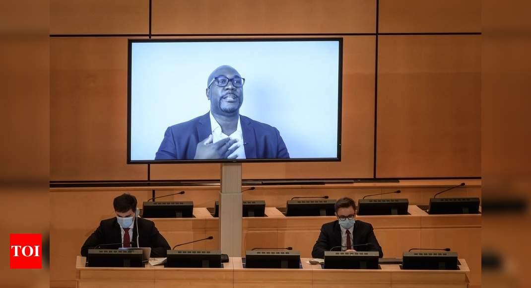George Floyd's brother urges UN to probe police killings of black ...