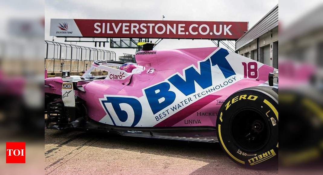 Formula One Racing Point Get 2020 F1 Car On Track At Silverstone Racing News Times Of India