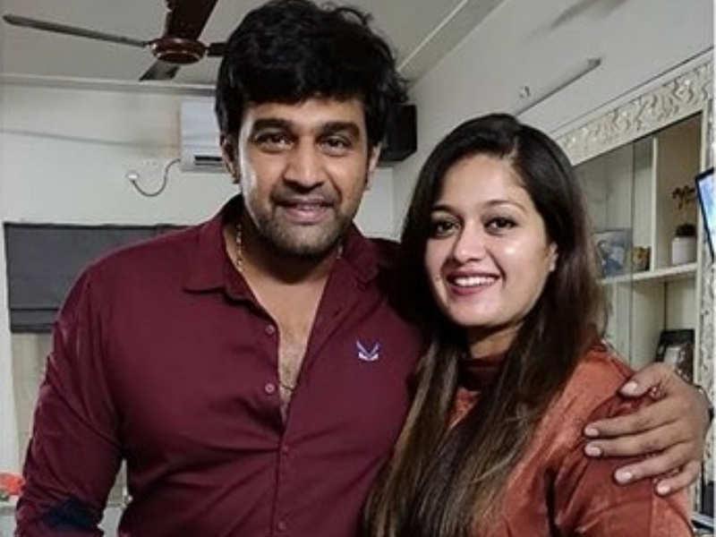 Meghana Raj S Emotional Tribute To Chiranjeevi Sarja Tamil Movie News Times Of India