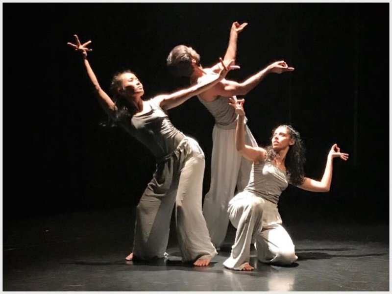 One of the dance pieces of 'The Crossing' that was live streamed