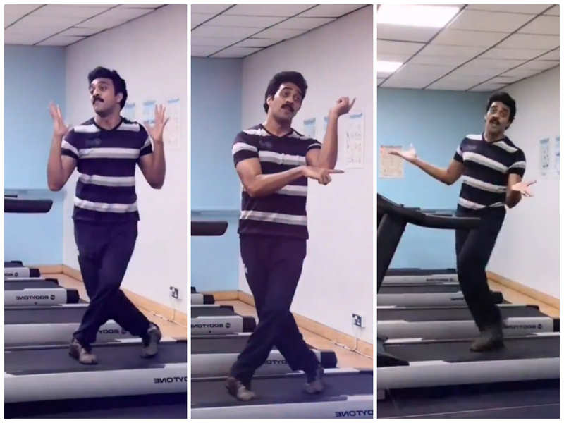 Kamal Haasan impressed with young actor's dance on a treadmill