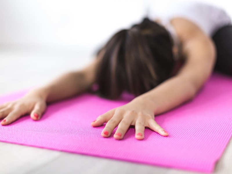 Having infertility? Yoga can help!