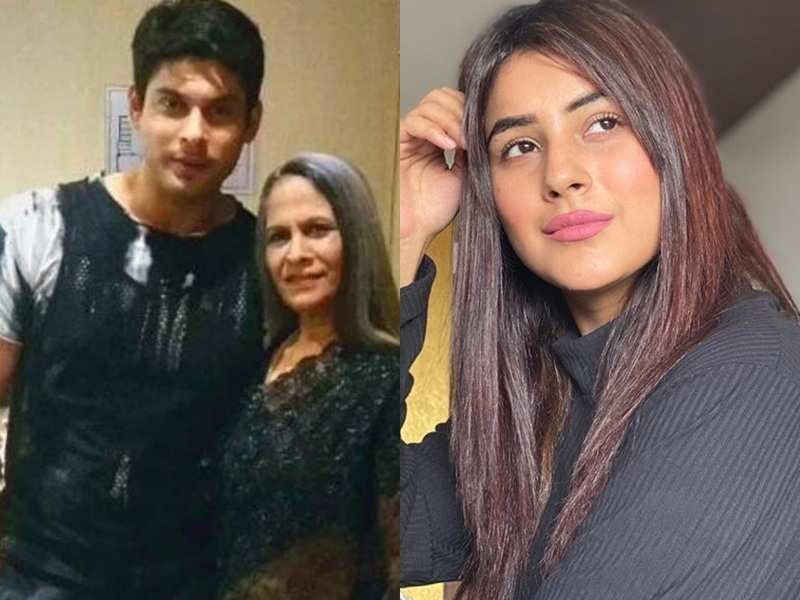 Fans dig out an old photo of Shehnaz Gill wearing an outfit similar to Sidharth Shukla's mom; see pic