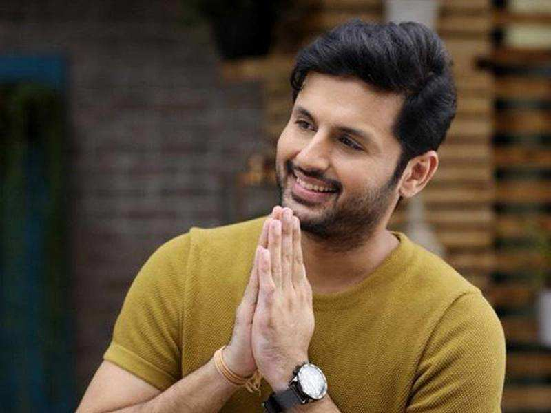 Buzz about Nithiin's three different looks in Power Peta