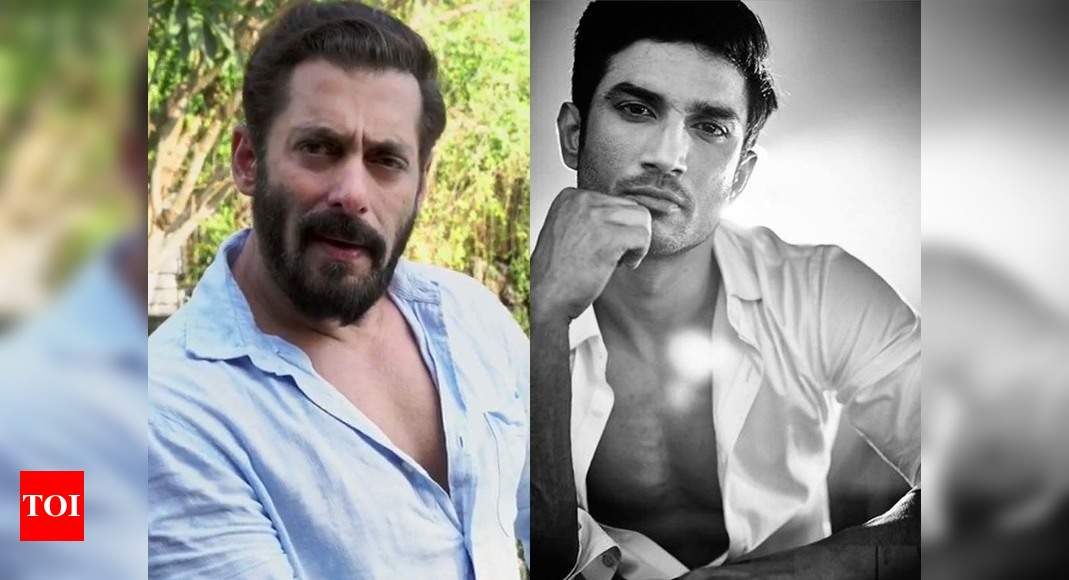 Salman Khan appeals his fans to stand with Sushant Singh Rajput's fans and 'not go by the curses used but to go with emotions behind it' – Times of India ►