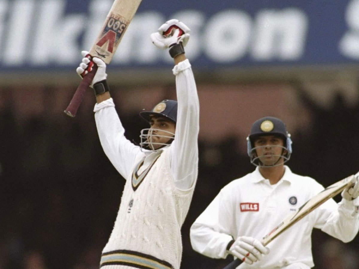 On this day in 1996: Sourav Ganguly scored century on his Test debut   Cricket News - Times of India