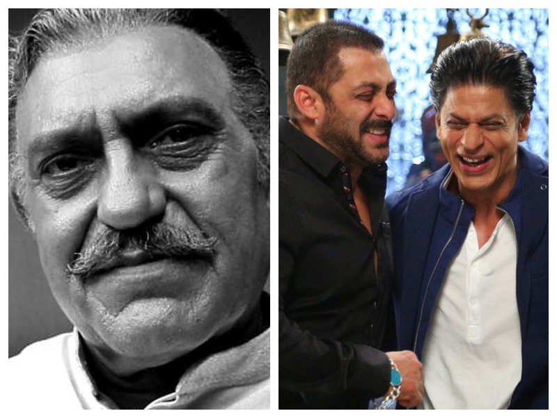Did you know that Salman Khan and Shah Rukh Khan would tease Amrish Puri for THIS reason?